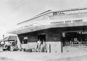 McDonalds Corner Store