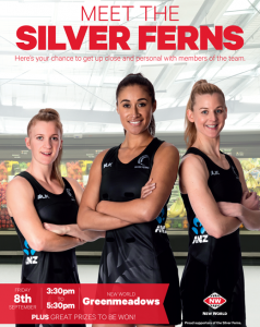 Meet The Silver Ferns