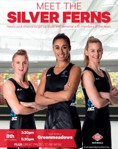 Meet The Silver Ferns
